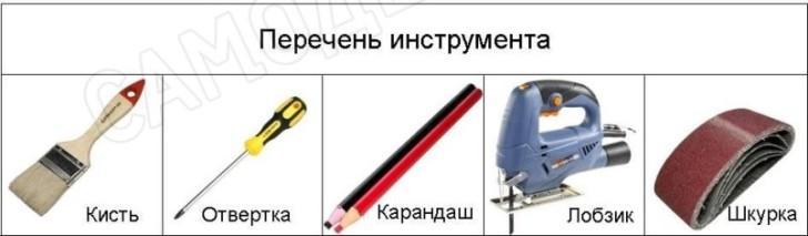 Инструмент фанерки