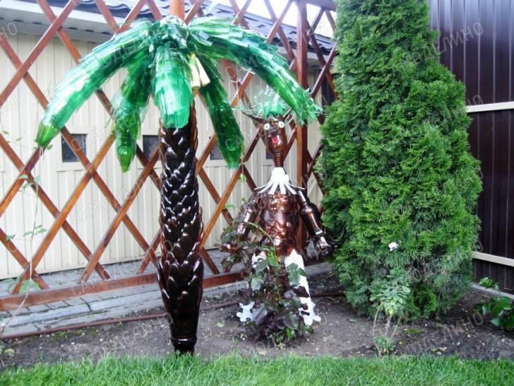 Поделка пальмы