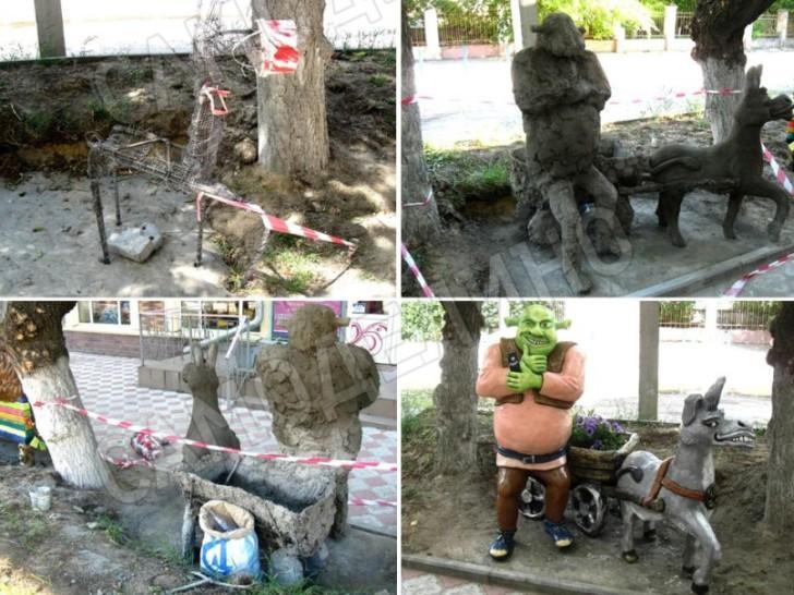 Поделки из цемента и гипса для сада своими руками мастер-класс 4