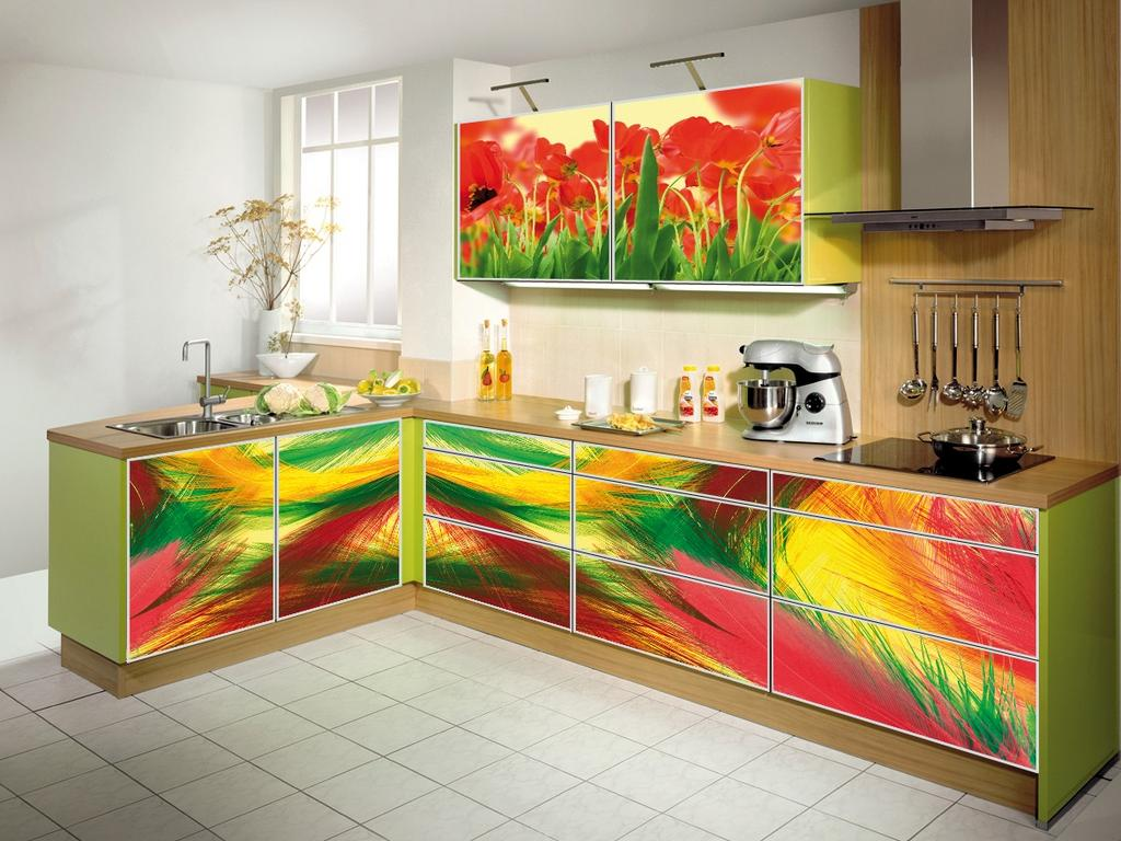 Как покрасить кухонный гарнитур своими руками: фото и видео инструкция