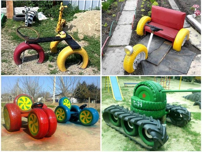 Танк и трактор