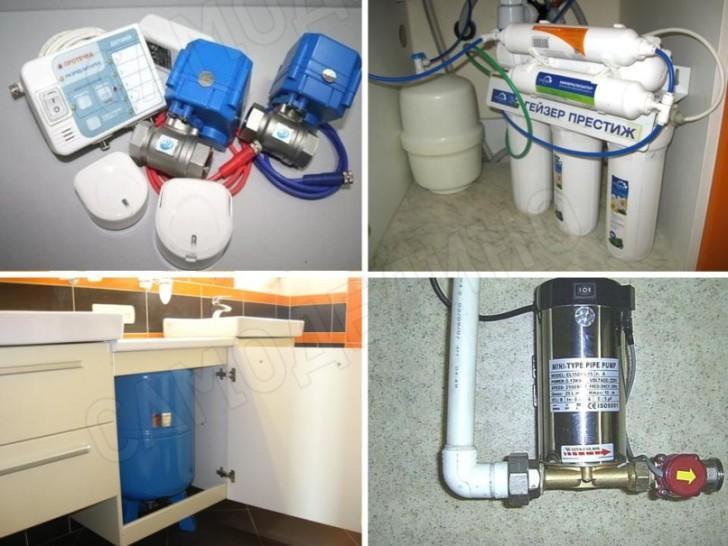 Оборудование водоснабжения