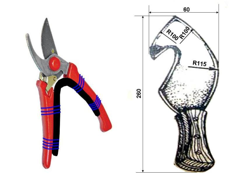 Секатор и нож