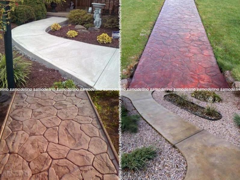 Покрытия из бетона