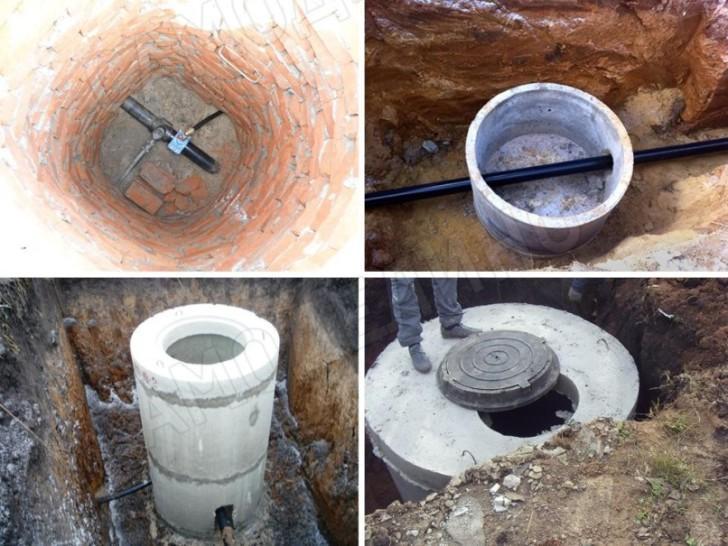 Колодцы для водопровода