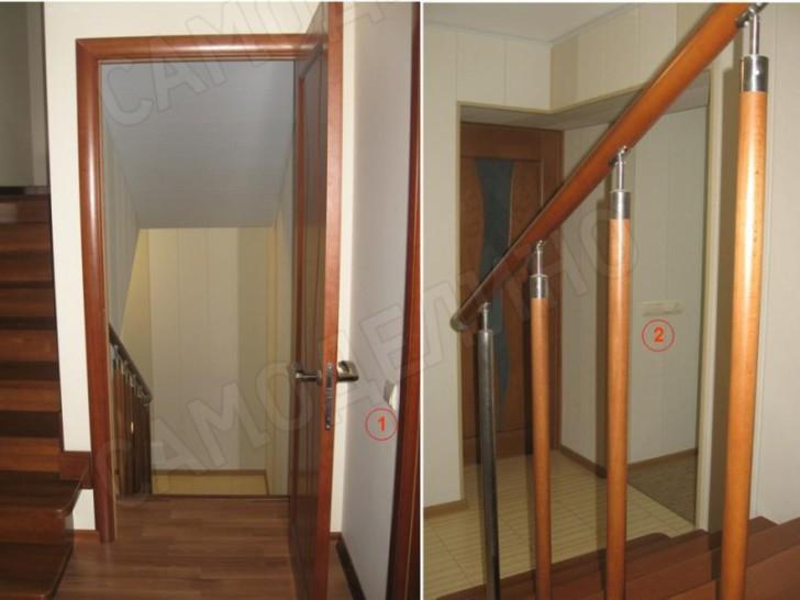 Освещение лестницы в цоколе