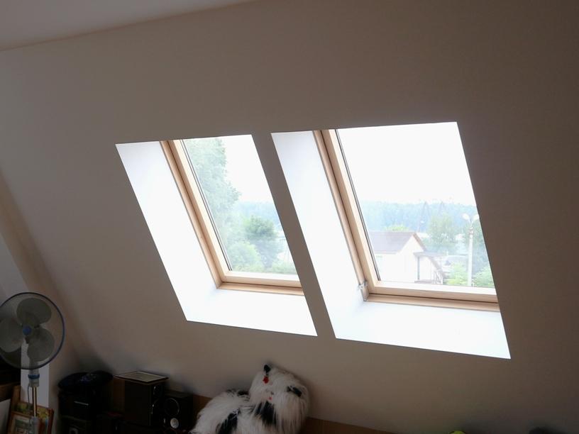 Наклонные окна
