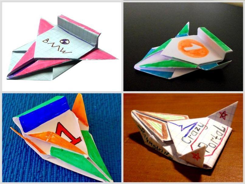 Оригами из бумаги машина гоночная схема