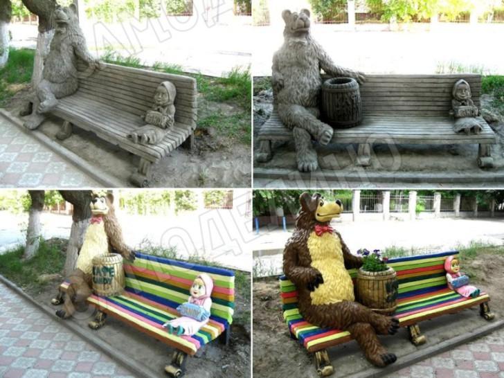 Маша с медведем