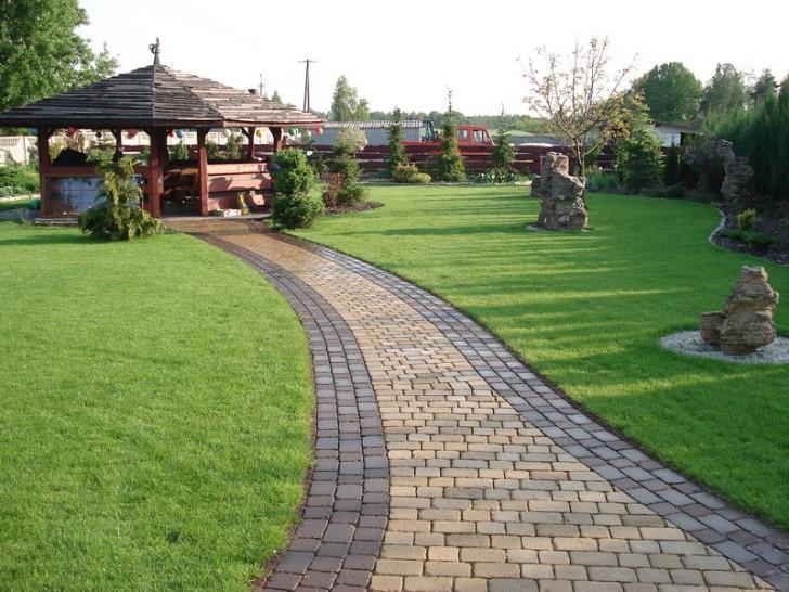 Садовые дорожки Элементы дизайна своими руками