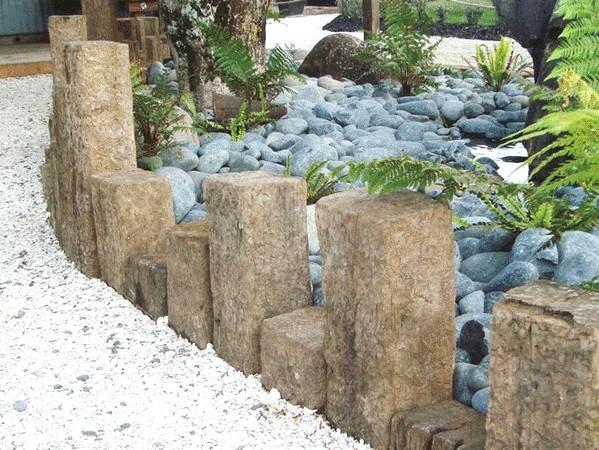 Как сделать бордюр ? для дорожек своими руками из бетона, кирпича и камня