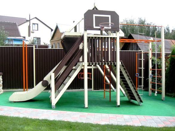 Детский игровой спортивный комплекс 🤸 своими руками: фото и чертежи городка из дерева и металла