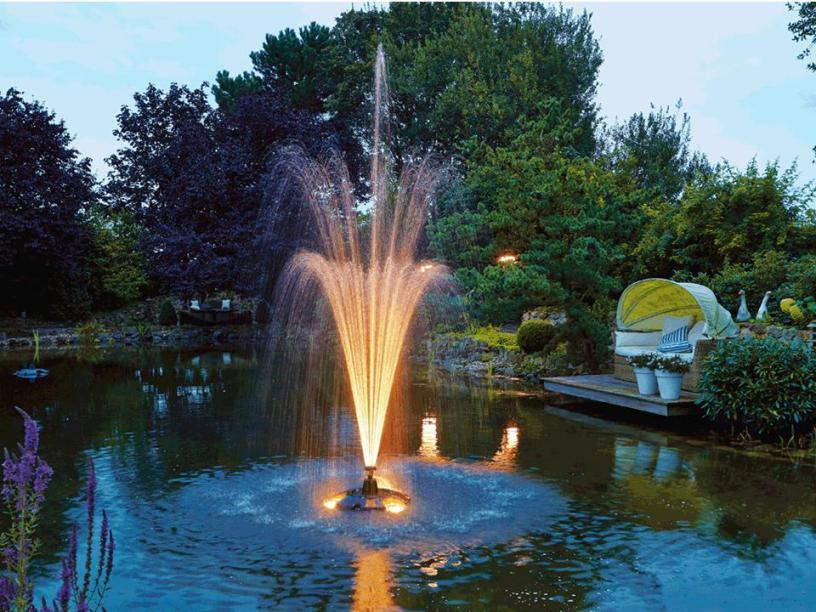 Pond fountains toro 51621