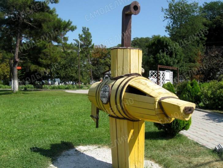 Поделка подводная лодка