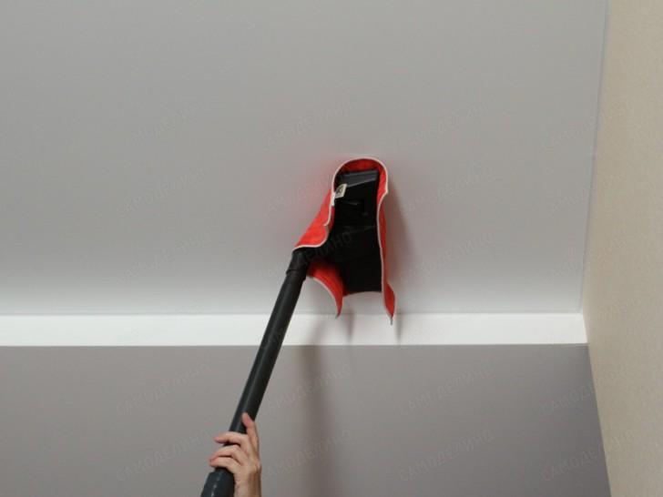 Пылесос для чистки натяжного потолка