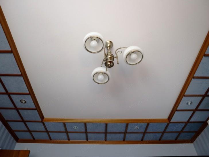 Побелка потолка в кабинете