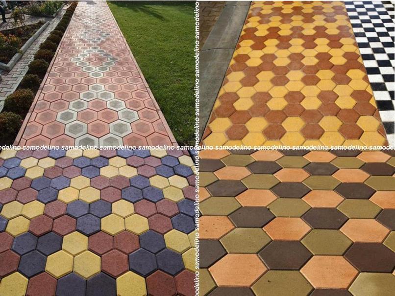 Примеры раскладки шестигранника