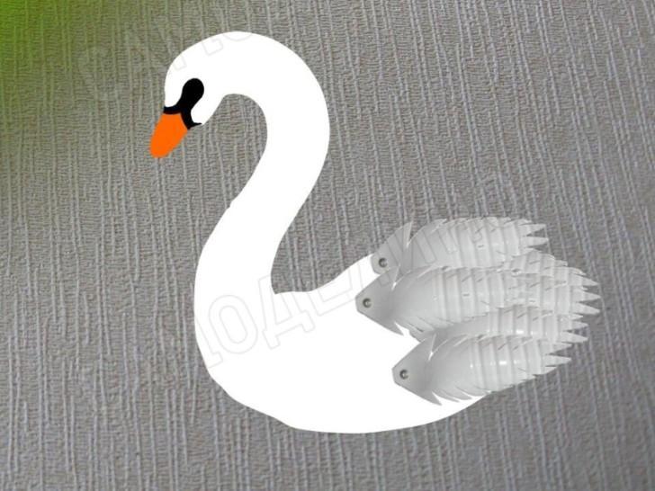 Сборка лебедя