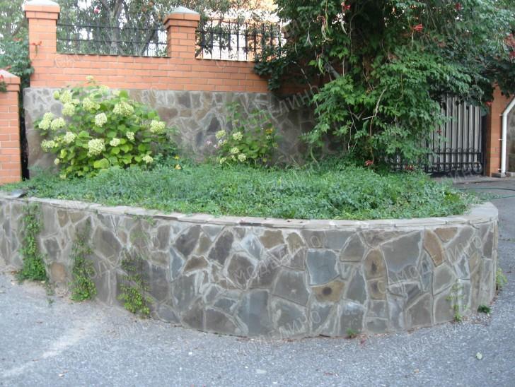 Стенка из бетона