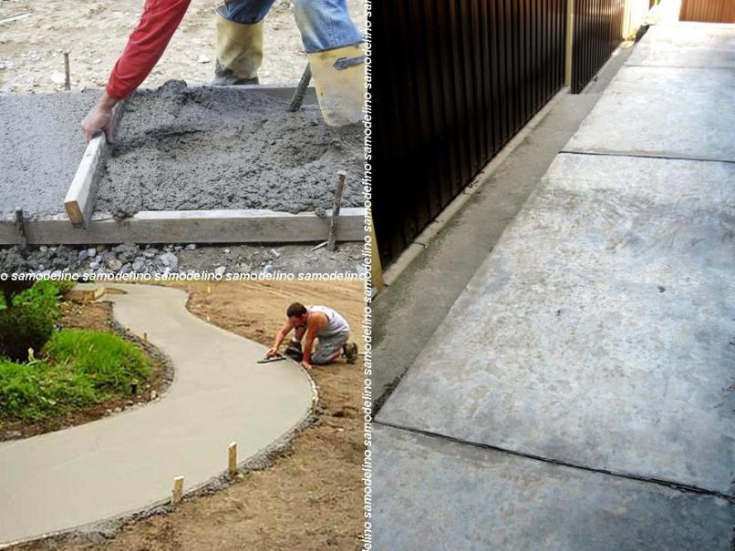 Этапы укладки бетона