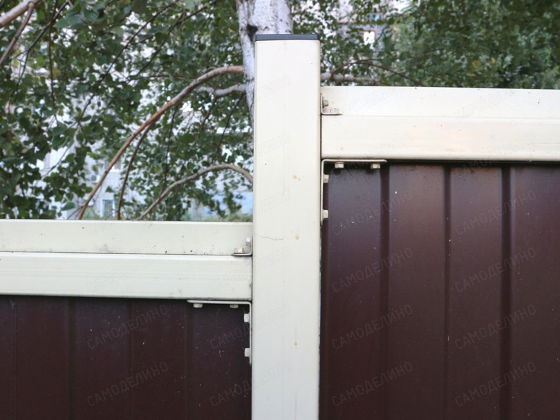 Планка со стороны двора