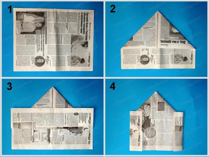 Voennaya-pilotka-1 Как сделать пилотку 🤡 из бумаги своими руками