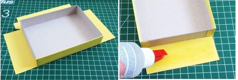 Коробка из картона своими руками: как сделать коробочку для подарков и вещей, схемы и шаблоны