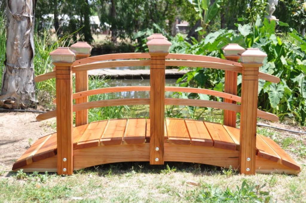 Садовые мостики своими руками