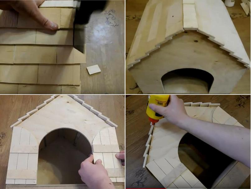Многоэтажный дом для кошек