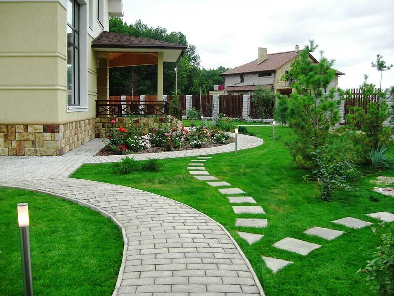 Как красиво оформить дом в деревне