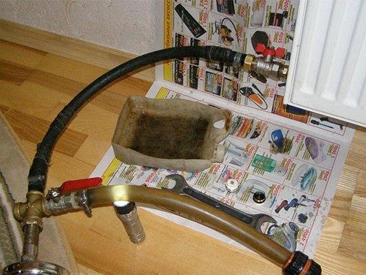 Чистка системы отопления в частном доме