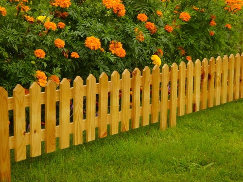 заборчики для клумб и цветников своими руками фото